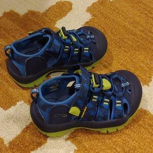 Keen sandals Newport H2 blue depths (toddler 8)